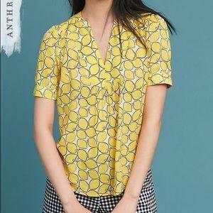 Colloquial Blouse Lemon No. 3 of 52 lemon print